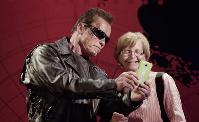 NGO ชวนอาร์โนลด์ตัวจริงลงพื้นที่ เป็นคนเหล็กป่วนเมืองสร้างเซอร์ไพรส์ โปรโมทหนังใหม่ Terminator Genisis