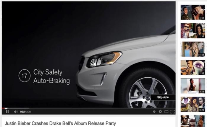 เคสเจ๋ง! ต้นแบบดิจิตอลเอเจนซี่ ผสานทั้ง Pre-Roll+Analytics+Product Benefits เข้าไว้ด้วยกันเพื่อโปรโมททุกฟีเจอร์รถ Volvo อย่างครบครัน