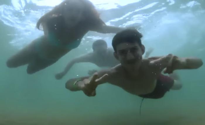 Neutrogena ชวนคนฉีดครีมกันแดดเสร็จแล้วก็ชวนกันไปแดนซ์ต่อใต้น้ำ!