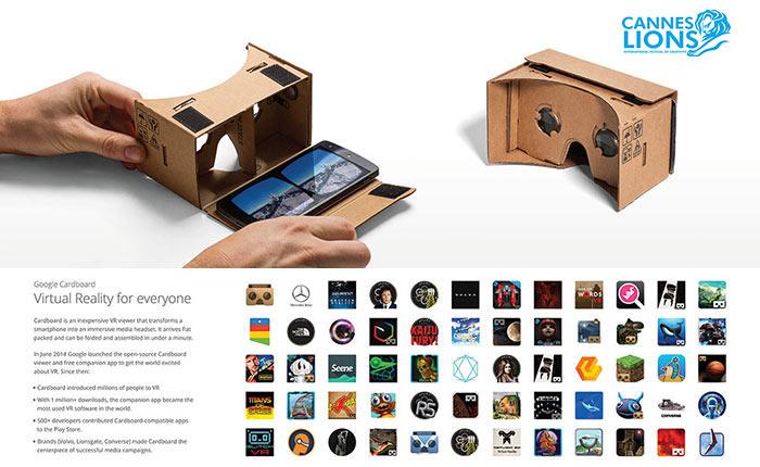 Google Cardboard ได้รางวัล Grand Prix สาขา Mobileไปครอง #CannesLions2015