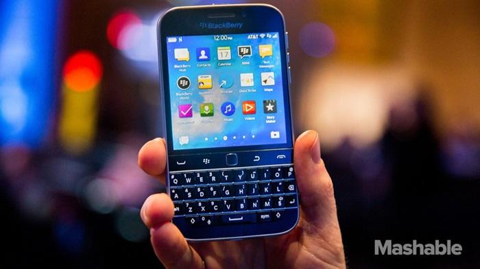BlackBerry พัฒนาสมาร์ทโฟนป้องกันเชื้อโรค-หวังยึดตลาดเฉพาะทาง