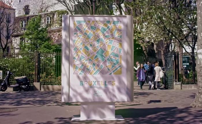 บิลบอร์ดที่เน้นขายเสียง The Sounds of the City กระตุ้นการท่องเที่ยวในยุโรป