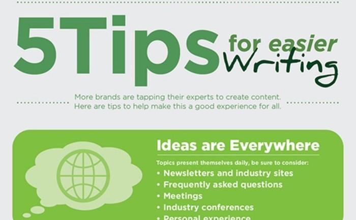 [infographic] 5 เทคนิคพัฒนาการเขียนให้เก่งขึ้น