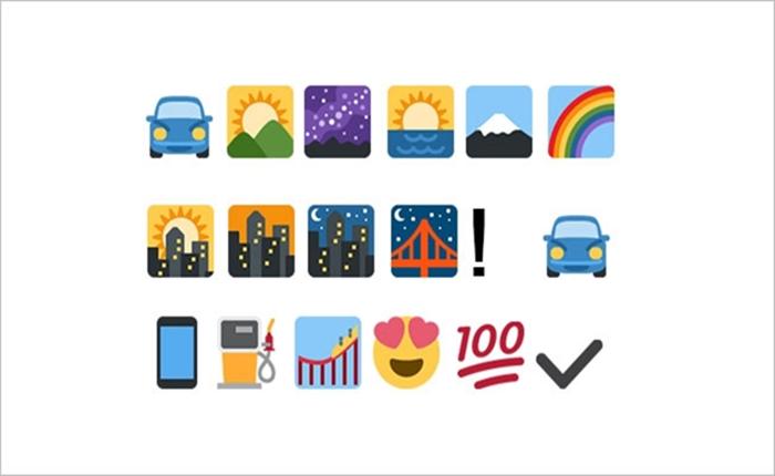 ผมนี่อึ้งไปเลย! เมื่อ Chevrolet แจกเพรส รีลีส เป็นตัวอักษร Emojis ทั้งหมด