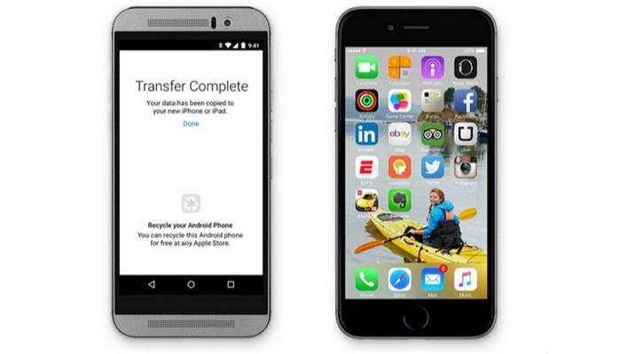 Apple แสบ! ออกแอพฯ Move to iOS ให้ผู้ใช้ Android เปลี่ยนระบบปฏิบัติการณ์เป็น iOS ได้
