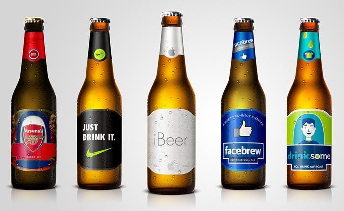 """เมื่อแบรนด์ดัง หันมาจำหน่าย """"เบียร์"""" จะมีรูปลักษณ์อย่างไร"""