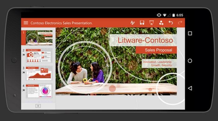 Microsoft ส่ง Office เวอร์ชั่นสำหรับสมาร์ทโฟนของ Android