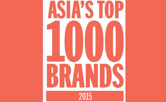 เผยรายชื่อ 1,000 แบรนด์ ที่ได้รับความนิยมสูงสุดในเอเชีย ประจำปี 2015