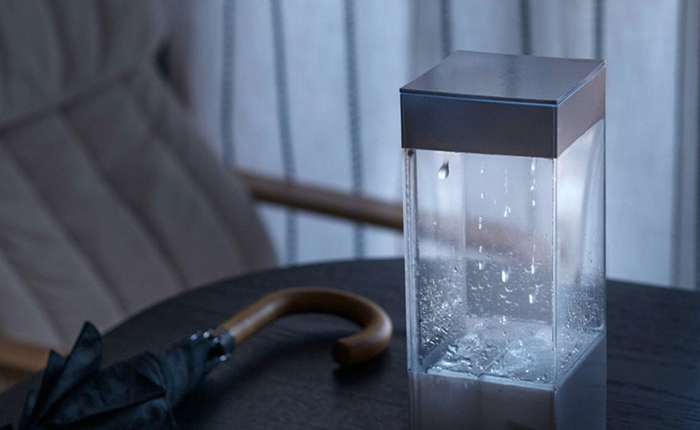 กล่องดิสเพลย์พยากรณ์อากาศอัจฉริยะ สร้างฝน เมฆ ฟ้าแล่บ สมจริง!