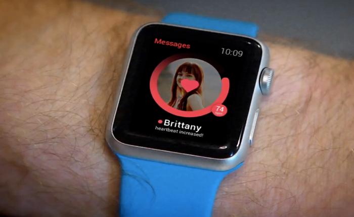 แอปฯเดท Tinder ถูกอัปเกรดใหม่ ใช้ Apple Watch จับคลื่นหัวใจหาคู่ที่ทำให้ใจเต้นตูมตาม
