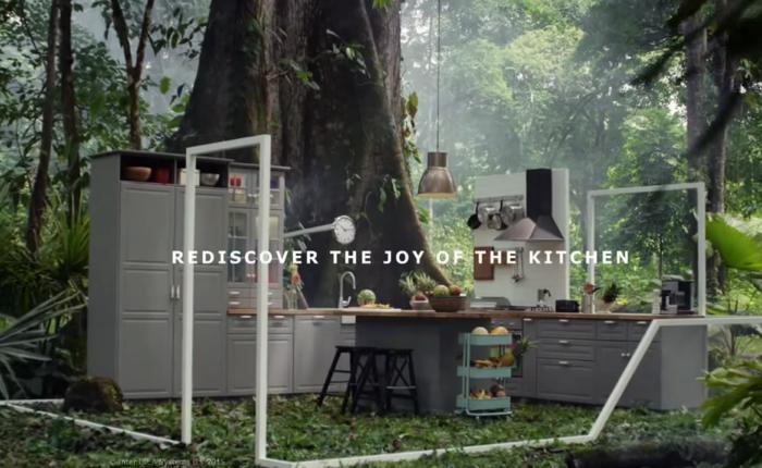 IKEA ออกโฆษณาใหม่เอาห้องครัวไปไว้กลางป่า โชว์ภาพความสนุกขณะทำครัวที่ใครๆ ก็ชอบ?