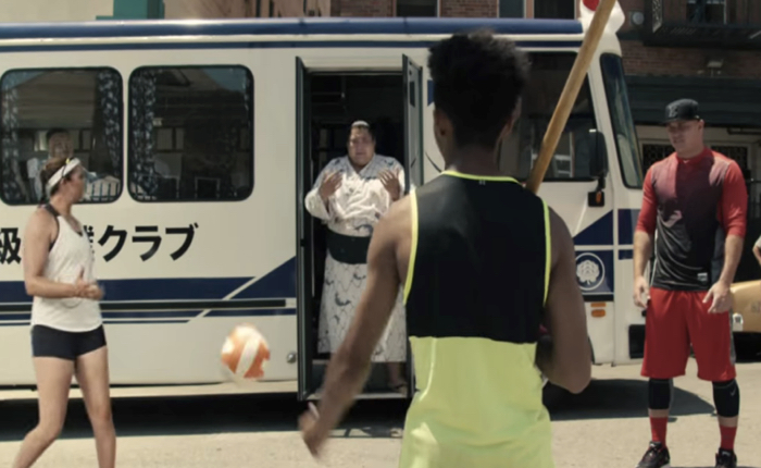 ไนกี้ใช้โฆษณาเดียวโปรโมทชุดกีฬาทุกประเภทได้อย่างสุดมันส์