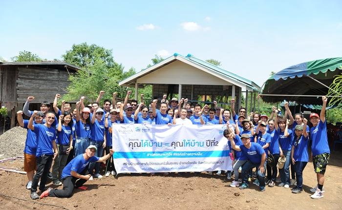 """[PR] อนันดาฯ ร่วมกับฮาบิแทต ชวนอาสาสมัครสร้างบ้านให้ผู้ด้อยโอกาส ในโครงการ """"คุณได้บ้าน = คุณให้บ้าน"""" ปีที่ 2"""