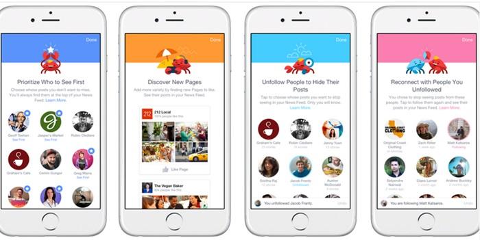 Facebook อัพเดทเครื่องมือช่วยให้คุณกรองโพสต์ที่คุณสนใจจริงๆ ลงบน News Feed