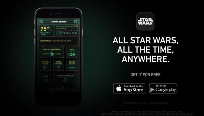 Disney ส่งแอพฯ StarWars ชิมลาง-มีฟีเจอร์เซลฟี่และฝึกปะดาบ