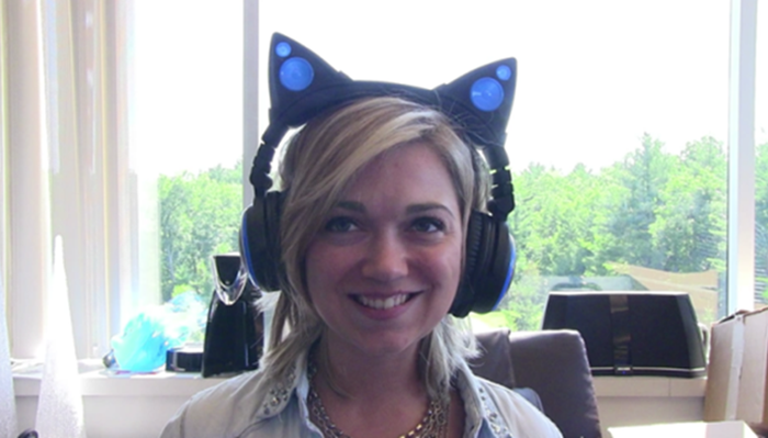 cat headphone