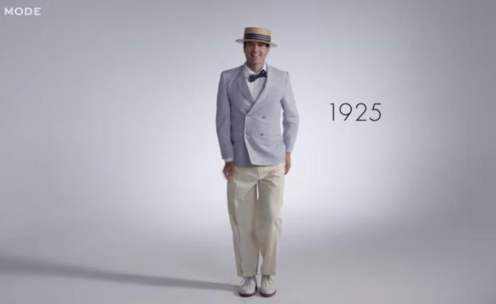 ย้อนดูแฟชั่นคุณผู้ชาย ตลอด 100 ปี 3 นาทีจบ!