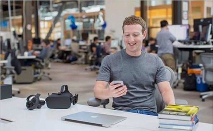 """""""มาร์ก ซักเคอร์เบิร์ก"""" อัพเดทตัวเลขผู้ใช้งาน 4 แพล็ทฟอร์มในเครือ อันดับ 1 ยังคงเป็น Facebook"""