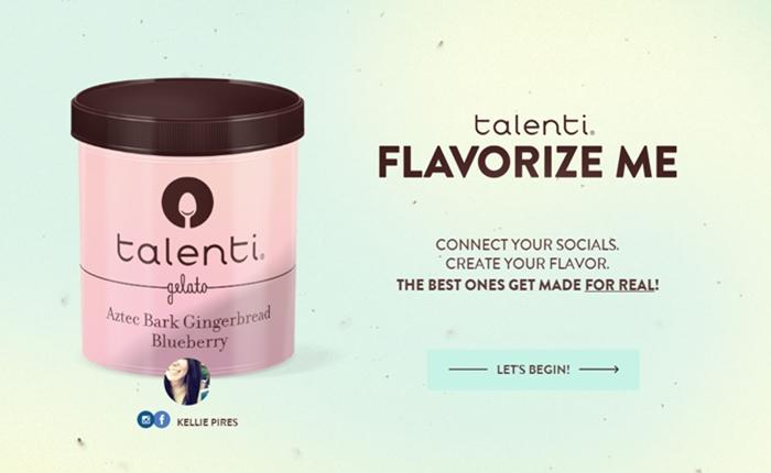 """""""Flavorize.me"""" แคมเปญเก๋ๆ ที่ช่วยวิเคราะห์โซเชียล มีเดียของคุณให้กลายเป็นรสชาติไอศครีม"""