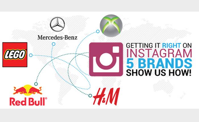 5 สิ่งที่แบรนด์ระดับโลกทำใน Instagram