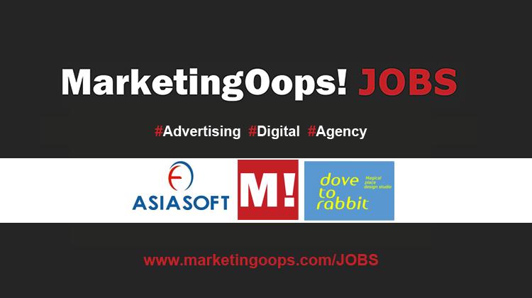 งานล่าสุด จากบริษัทและเอเจนซี่โฆษณาชั้นนำ #Advertising #Digital #JOBS 7-10 July 2015