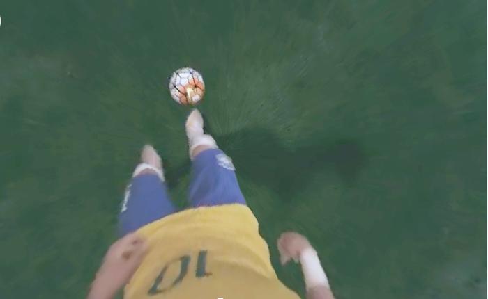 Nike เจ๋งให้คุณสัมผัสประสบการณ์แบบ Virtual Reality เหมือนสวมวิญญาณ Neymar ลงสนาม