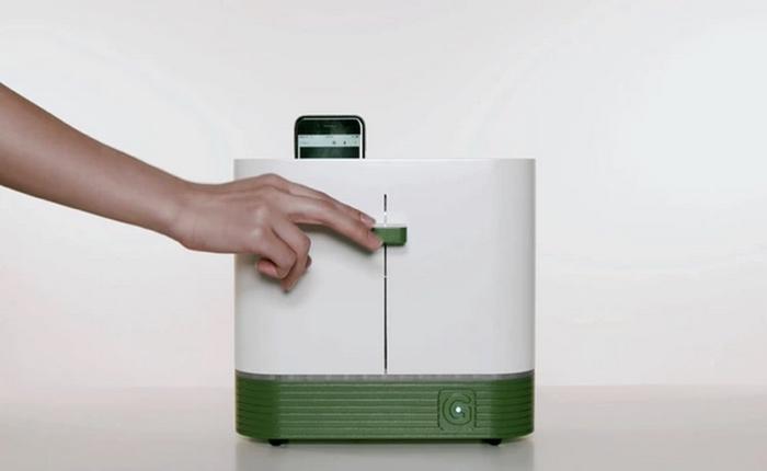 เว็บขายของเกาหลีโปรโมทตัวเองด้วยเครื่องล้างมือถือด้วยแสงยูวี