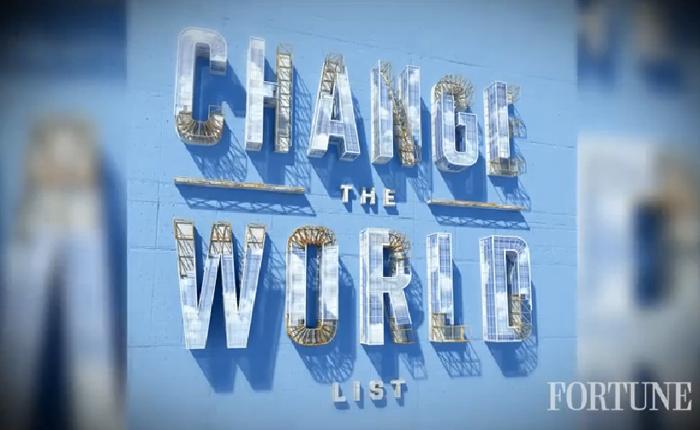 นิตยสารฟอร์จูนจัดอันดับบริษัท (ทำดี) เปลี่ยนโลก!