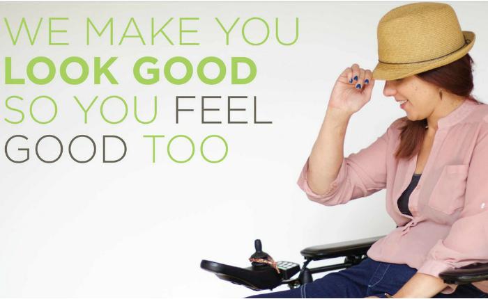 ดีไซนเนอร์สาวเป็นอัมพาตไอเดียดี ออกแบบกางเกงสำหรับผู้พิการที่ใช้วีลแชร์