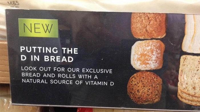 ขนมปังใส่ D?! Marks & Spencer โดนล้อบนโซเชียลฯว่าไม่โปรฯเอาซะเลย