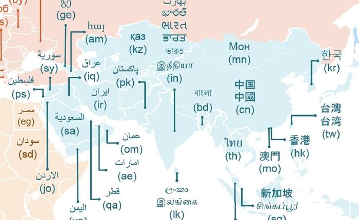 โดเมนภาษาท้องถิ่น อนาคตอินเทอร์เน็ตในเอเชียแปซิฟิก