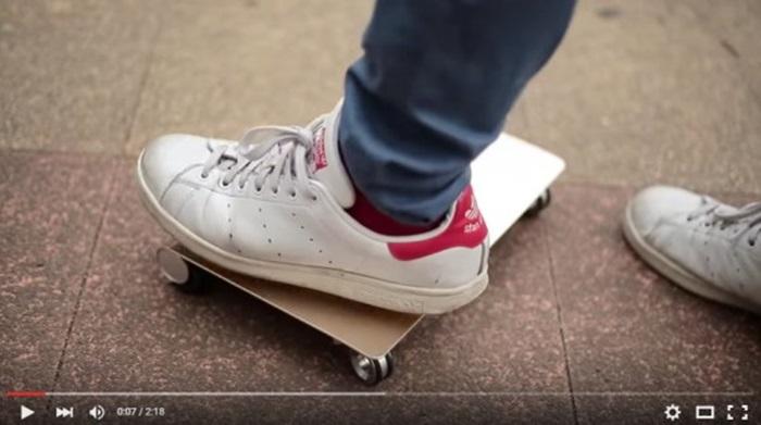 วิศวกรญี่ปุ่นเจ๋ง! ประดิษฐ์สเก็ตบอร์ดส่วนบุคคลช่วยให้ไม่ต้องเดิน