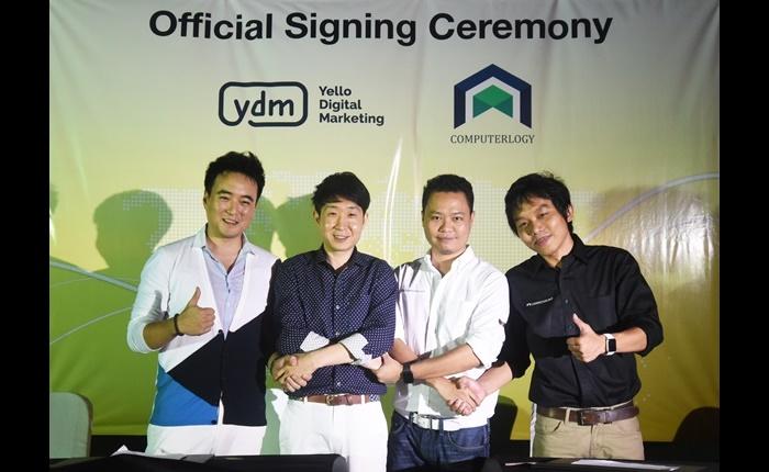 บริษัทคอมพิวเตอร์โลจี เข้าร่วมกลุ่ม Yello Digital Marketing (YDM) ยักษ์ใหญ่จากเกาหลีตั้งเป้าผู้นำโซลูชั่นการตลาดบนโซเชียลมีเดียครบวงจร