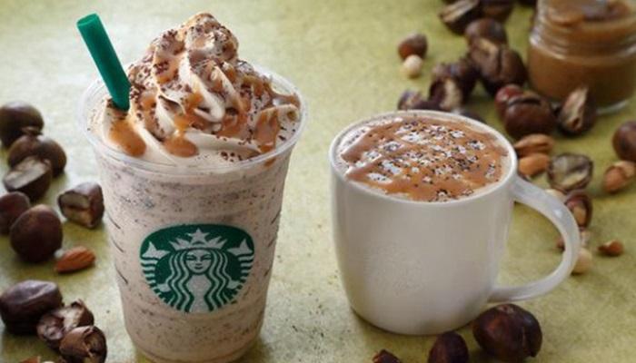 Starbucks Japan ออกเมนูใหม่ลาเต้เกาลัด-รับฤดูใบไม้ร่วง