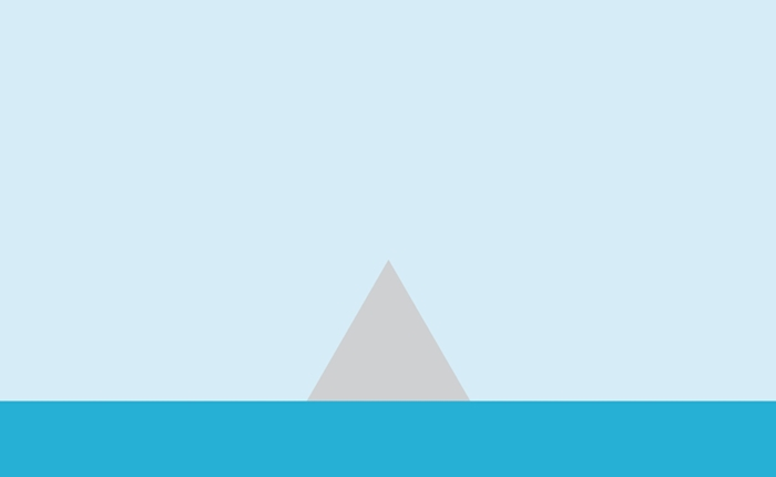 Toblerone เปิดตัว Print Ads แบบ Minimalist แบบเรียบง่าย
