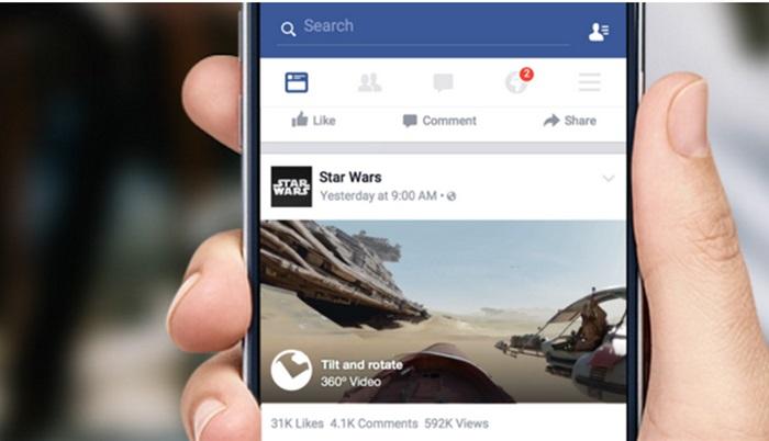 Facebook กำลังจะมี 360 Videos มาสร้างสีสันแล้วจ้า