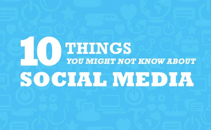 10 อย่างที่คุณอาจไม่เคยรู้มาก่อนเกี่ยวกับ Social Media