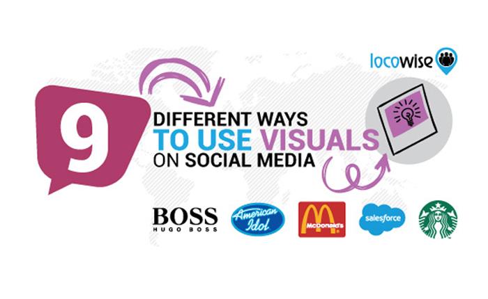 9 วิธี 5 แบรนด์ กับการใช้ Visual Social Media ที่แตกต่างกัน