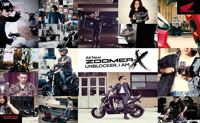 A.P. Honda สะท้อนความเท่ All New Zoomer-X ผ่านตัวตนของคนรุ่นใหม่