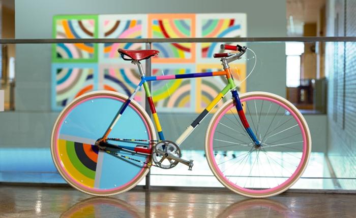 """งามเฟอร์! """"จักรยาน"""" ที่มีแรงบันดาลใจจากงานศิลปะเลื่องชื่อ ฉลอง 100 ปี MIA"""