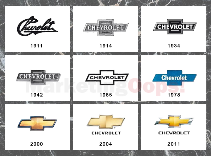 chev logo history