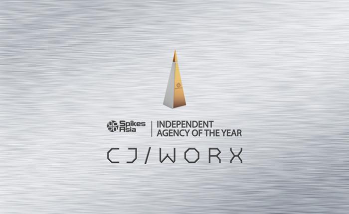 """ครั้งแรกของไทย! CJ WORX คว้ารางวัล """"Independent Agency of The Year"""" งาน Spikes Asia"""