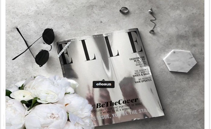 Elle Australia เปลี่ยนปกแมกกาซีนเป็นกระจก THIS ISSUE, YOU'RE THE STAR