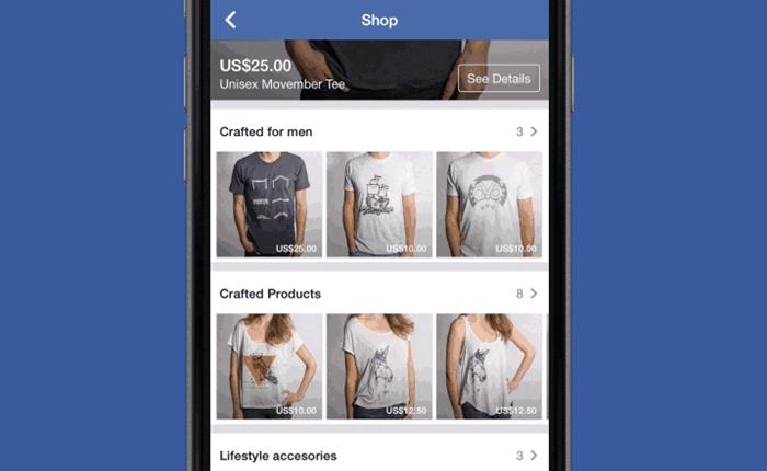 Facebook เอาใจขาช้อป เปิดบริการสั่งซื้อสินค้าบนเว็บได้แล้ว
