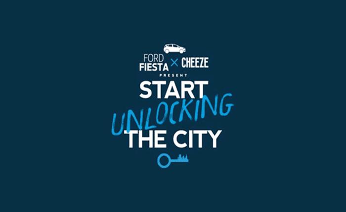 FORD FIESTA และ CHEEZE MAGAZINE จัดงาน Start Unlocking The City กิจกรรมสุดฮิป ณ ลานเซ็นทรัลเวิลด์ วันที่ 12-13 กันยายน 2558 นี้