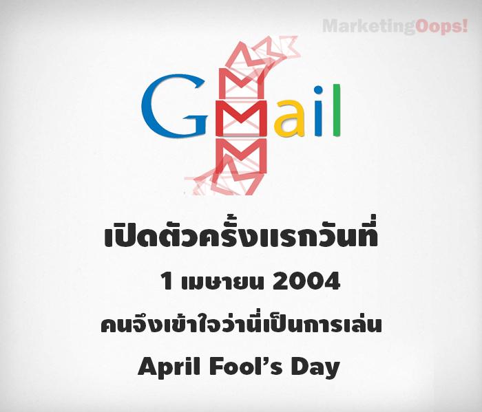 gmail april