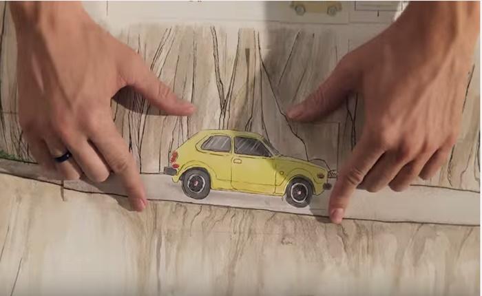 AD ตัวล่าสุดจาก Honda เล่าวิวัฒนาการน่าทึ่งของแบรนด์ ผ่านกระดาษ