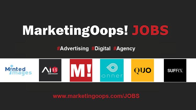 งานล่าสุด จากบริษัทและเอเจนซี่โฆษณาชั้นนำ #Advertising #Digital #JOBS 21 – 25 Sep 2015