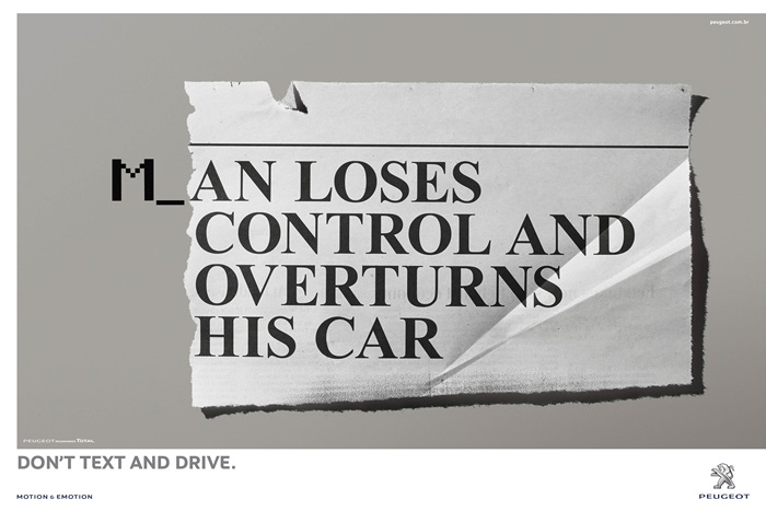 peugeot-peugeot-social-dont-text-and-drive-print-376111-adeevee