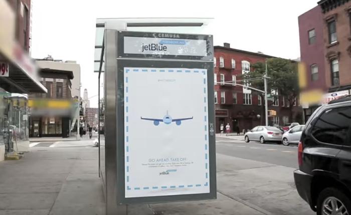 Jetblue ทำโฆษณาน่าขโมยเพราะในภาพมีของแจกนั่นเอง!